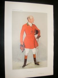 Vanity Fair Print 1906 Reginald Corbet, Fox Hunter